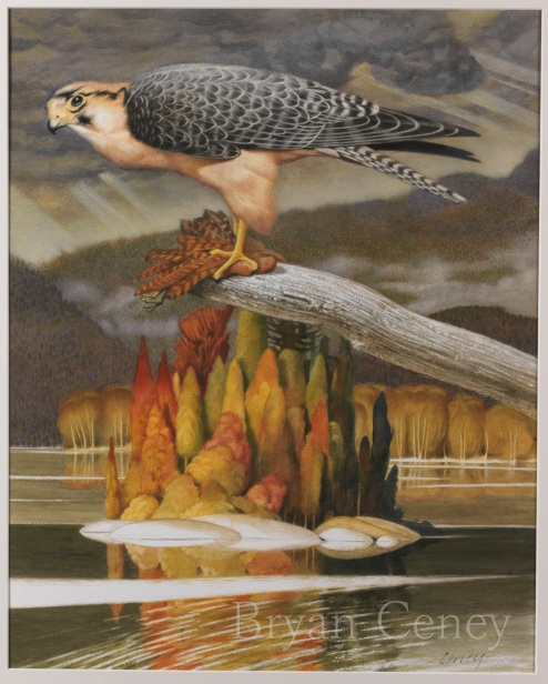 Lanner Falcon; Canadian Group of Seven artists